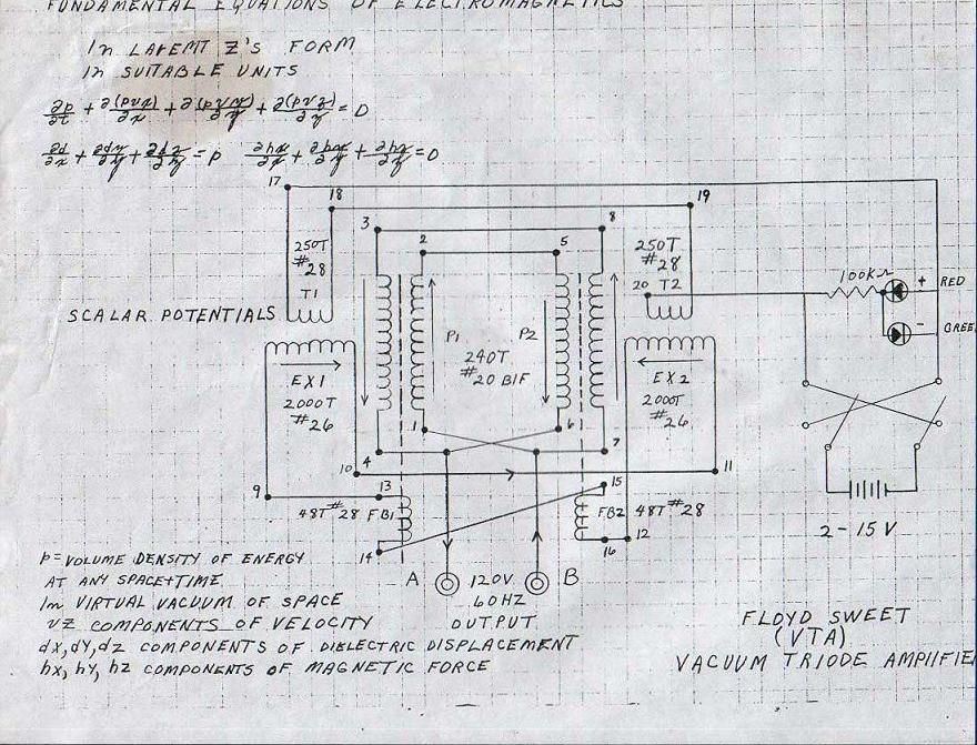 Floyd Sweet Schematic